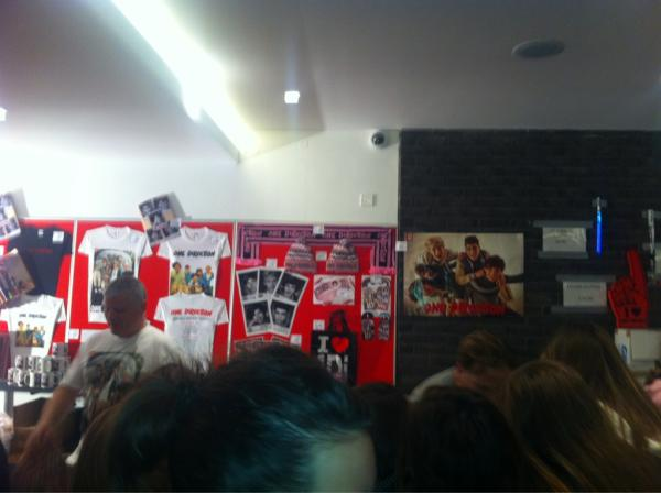 """Up All Night"" tour merchandise!"