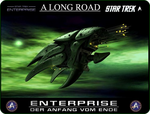 étoile, étoile, star Trek - Enterprise fond d'écran with animé titled «Звёздный Путь Энтeрпрайз»: Romulan Shapeshifter dron.