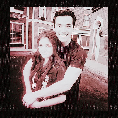 Lucy&Ian wallpaper probably with a street called ►lucy/ian;