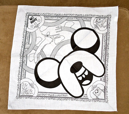 Adventure Time bandana - adventure-time-with-finn-and-jake Fan Art