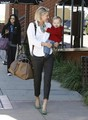 Ali Larter &amp; Theodore Running Errands In Brentwood - ali-larter photo