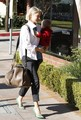 Ali Larter & Theodore Running Errands In Brentwood - ali-larter photo
