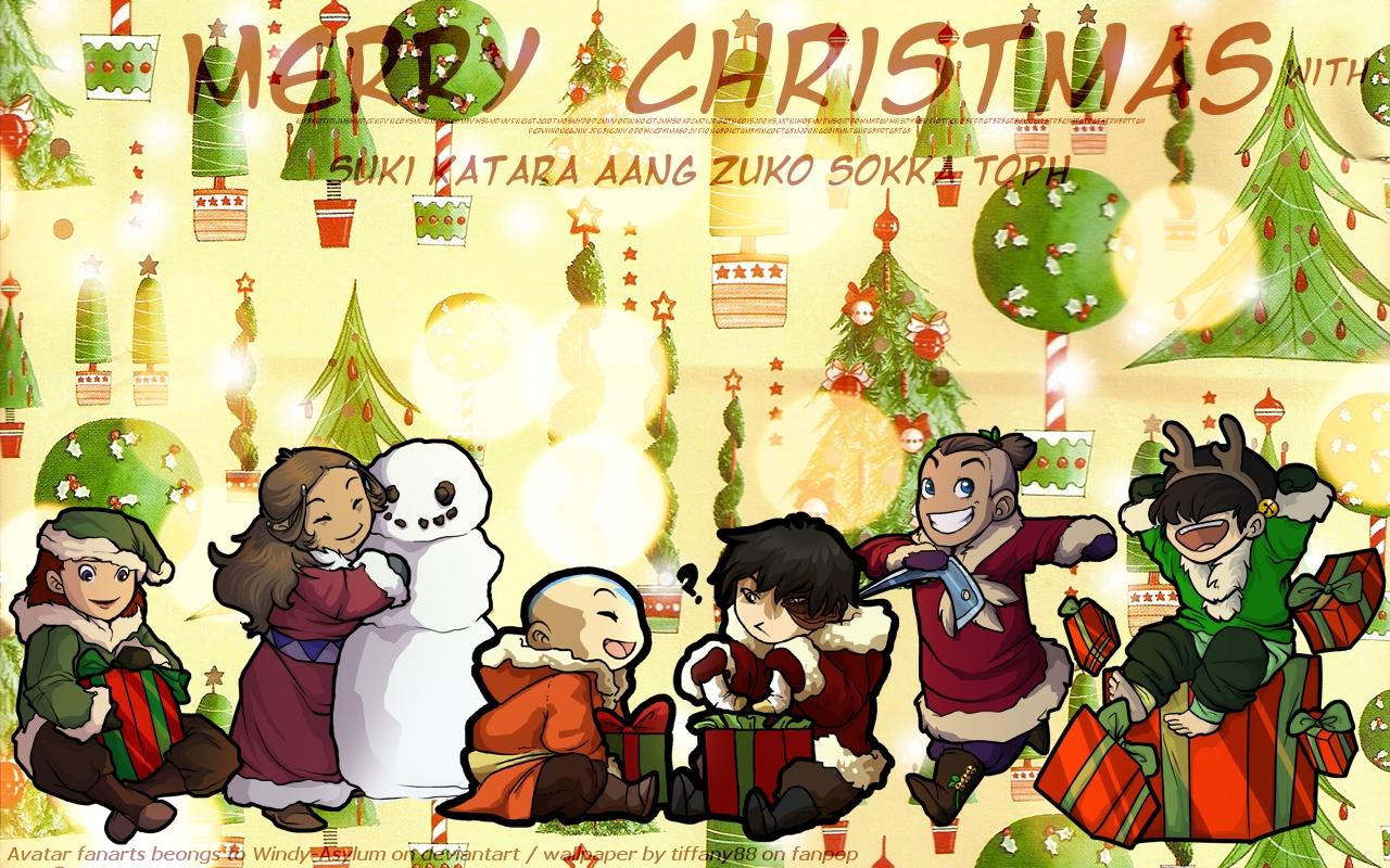 Avatar the last airbender avatar christmas gaang