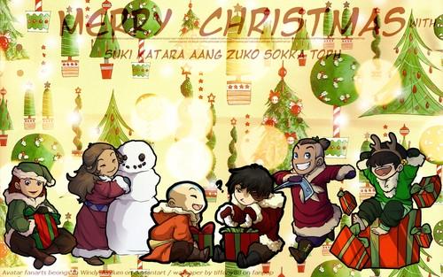 Avatar Christmas - Gaang ~ ♥