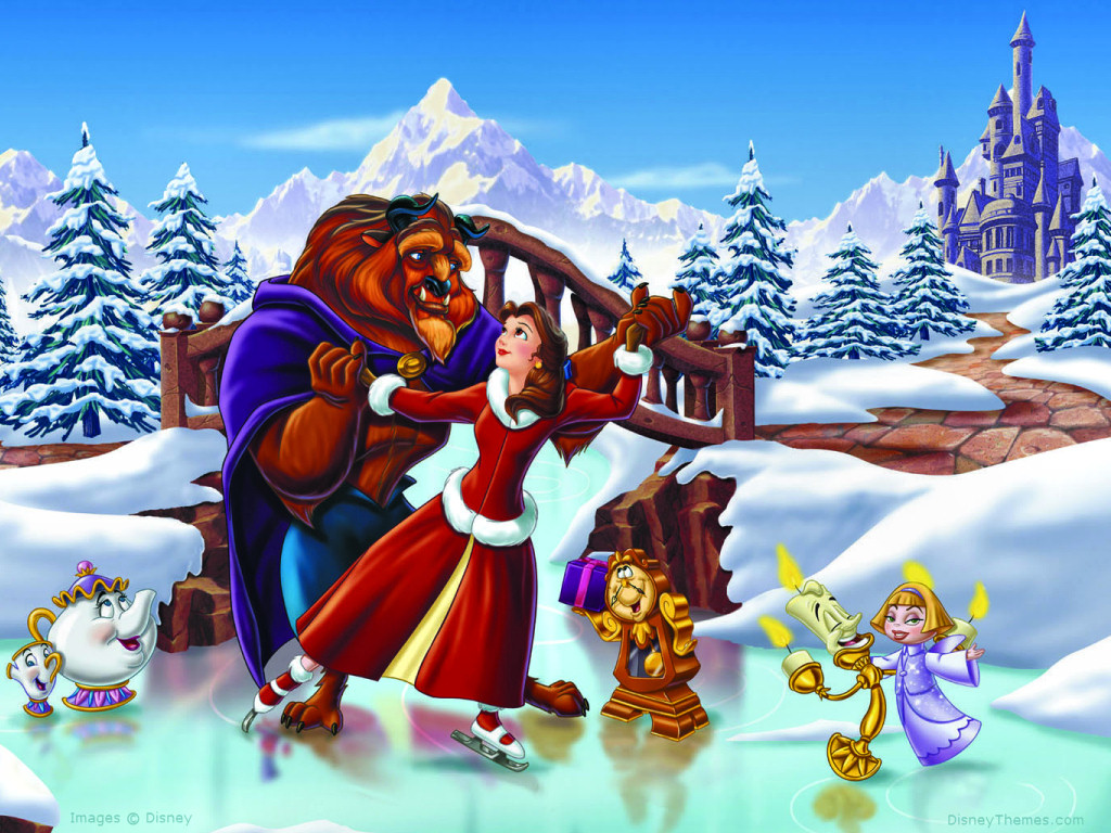 beauty and the beast the enchanted christmas images beauty