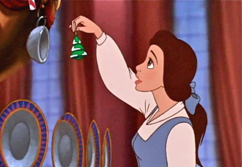 Beauty and the beast the enchanted chrismas