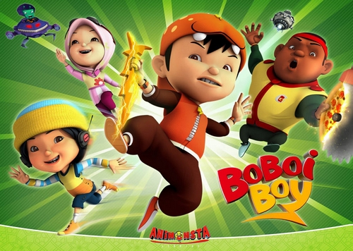 boboiboy and His Friend
