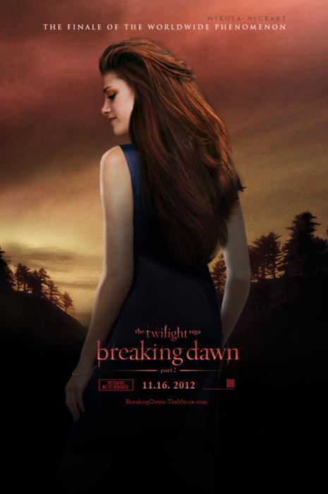 Breaking Dawn The Movie Breaking Dawn Part 2 poster