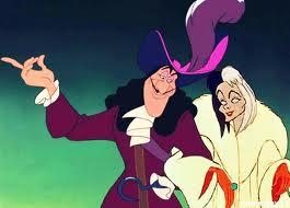 Captain Hook and Cruella De Vil