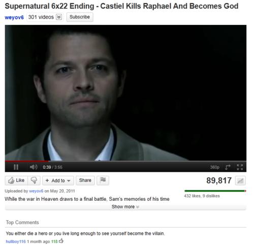 Castiel as God