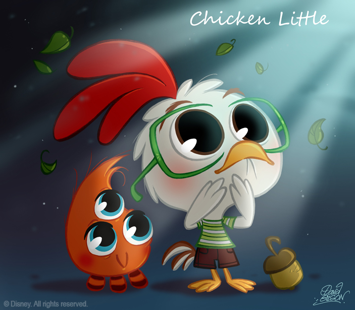 Chibi Chicken Little Fan Art 27782896 Fanpop
