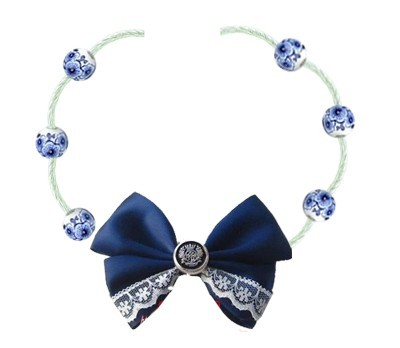 Classic Lolita Neck Belt with Bow