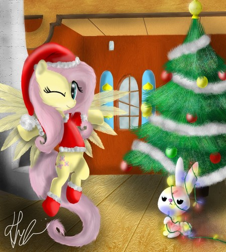 Decorating With Fluttershy
