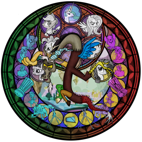 Discord stain glass