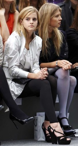Emma Watson and Clemence Poesy