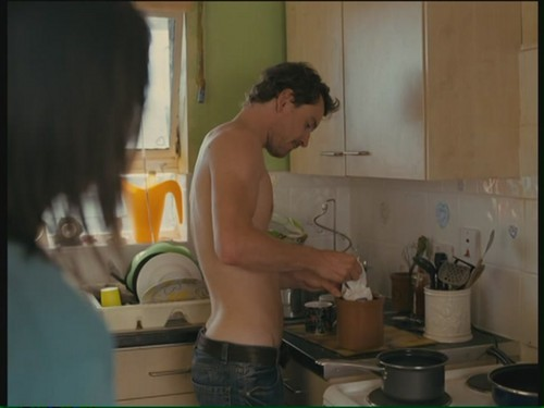 Michael Fassbender wallpaper possibly with a kitchen, a kitchenette, and a stove called Fish Tank