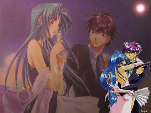 FULL METAL PANIC wallpaper probably with a konser called Full Metal Panic