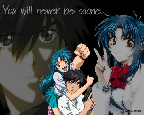 FULL METAL PANIC wallpaper possibly containing anime titled Full Metal Panic