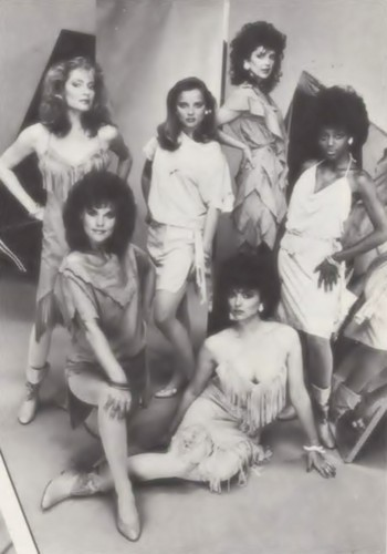 GH Women 1983 -- Tiffany,Heather,Bobbie,Claudia,Celia and Holly.