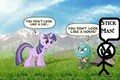 Gumball'My Little Pony And Stickman