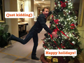 Happy Holidays from Kiefer! - kiefer-sutherland photo