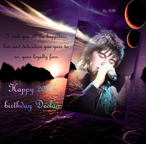 Happy birthday Declan!