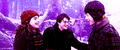 Harry, Ron & Hermione <3
