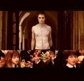 Harry, Ron & Hermione react to Cedric Diggory