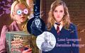 Hermione Granger and Luna Lovegood