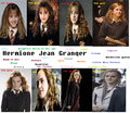 Hermione=through the an