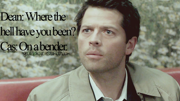 Hilarious Castiel Quotes Supernatural