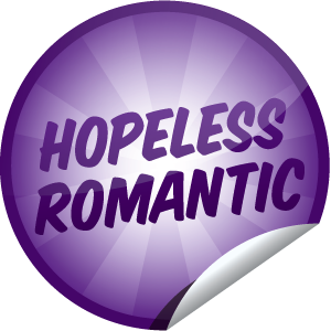 Hopeless Romantic sticker