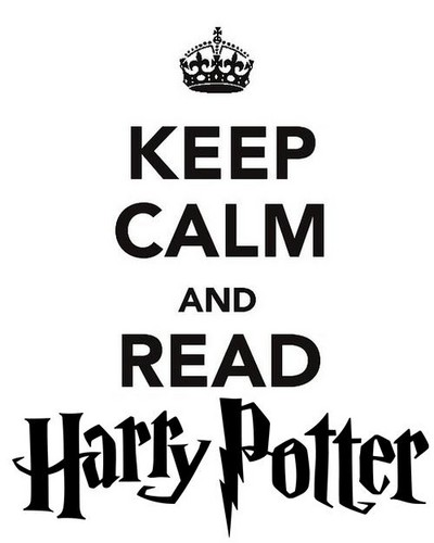 Keep Calm and Potter on!