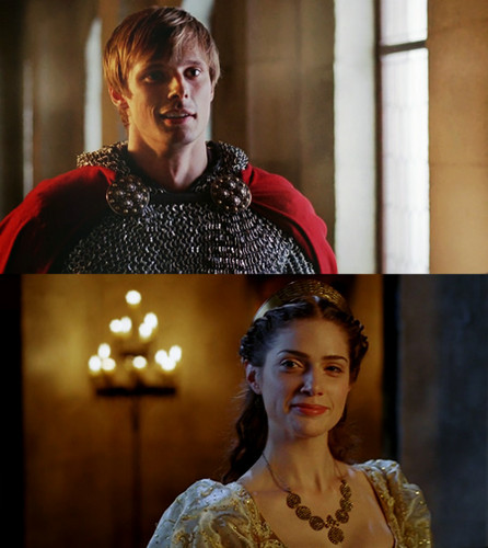 King Arthur Pendragon and Princess Mithian