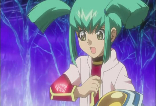 Luna from Yu-Gi-Oh! 5Ds দেওয়ালপত্র probably containing জীবন্ত called Luna