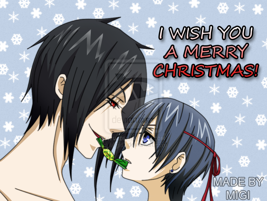 black butler images merry christmas hd wallpaper and background photos - Black Butler Christmas