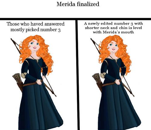 Merida finalized