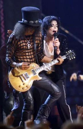 Michael Jackson & Slash ♥