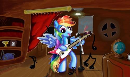更多 pics of 彩虹 Dash playing the 吉他