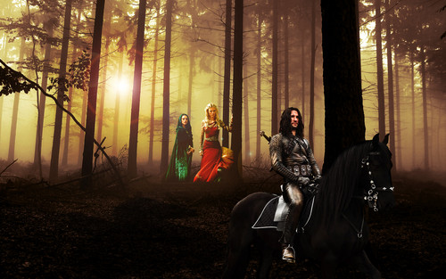 Morgana, Morgause and Cenred