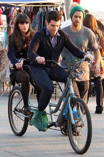 New Girl - On Set - 12/14/11