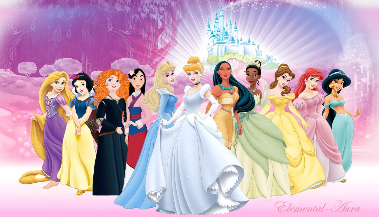 New Merida With The Disney Princesses Merida Photo