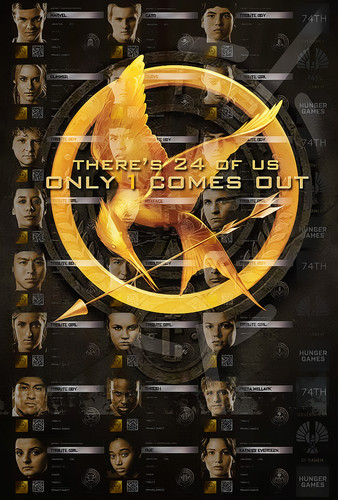 New 팬 Hunger Games movie posters
