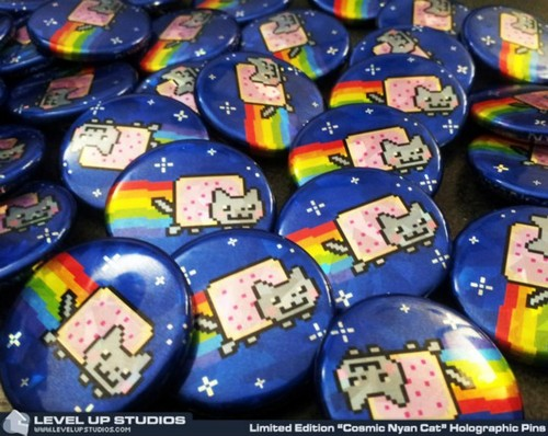 Nyan Cat pins~