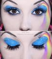 Nyan eye shadow - nyan-cat photo