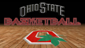 OHIO STATE BUCKEYES BASKETBALL RED BLOCK O