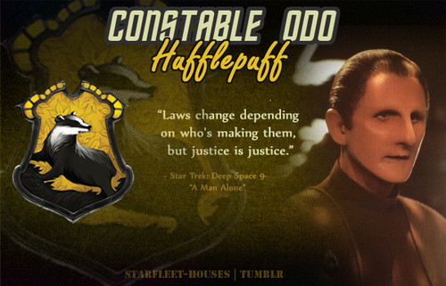 estrella Trek: Deep el espacio Nine fondo de pantalla with anime entitled Odo - Hufflepuff
