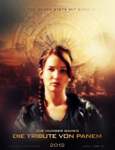 "Official German Hunger Games Fan Poster Contest for ""Die Tribute von Panem"""