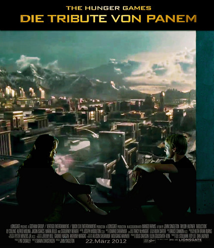 "The Hunger Games wallpaper probably containing anime called Official German Hunger Games Fan Poster Contest for ""Die Tribute von Panem"""