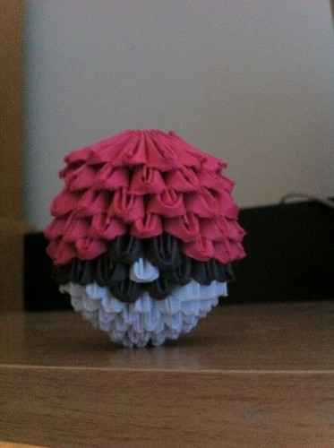 Origami Pokeball